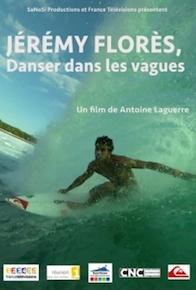 Jérémy Florès, danser dans les vagues