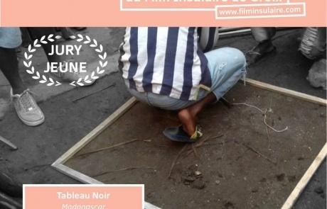 Prix du jury Jeune Public pour Tableau Noir, de Môta Soa