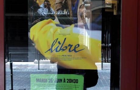 Salle pleine pour Libre à Toulouse