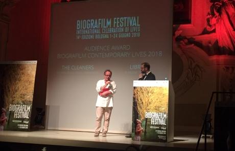 Libre – prix du public à Bologne